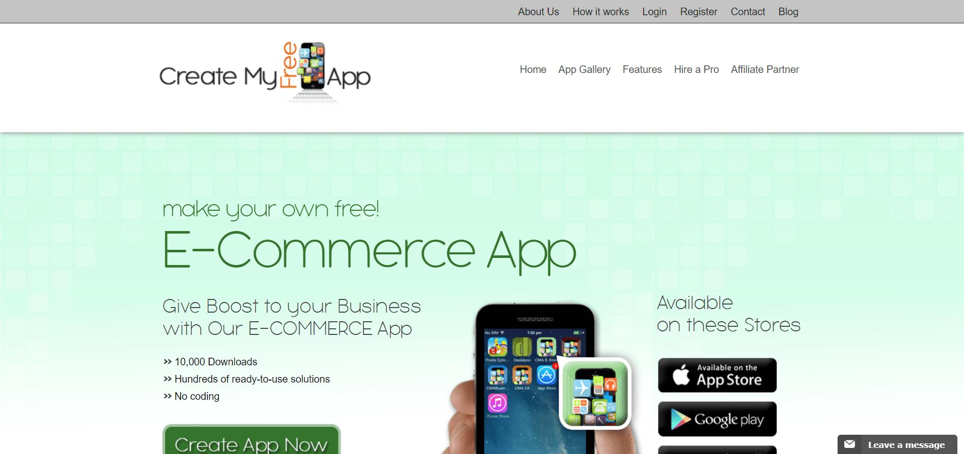 Create My Free App