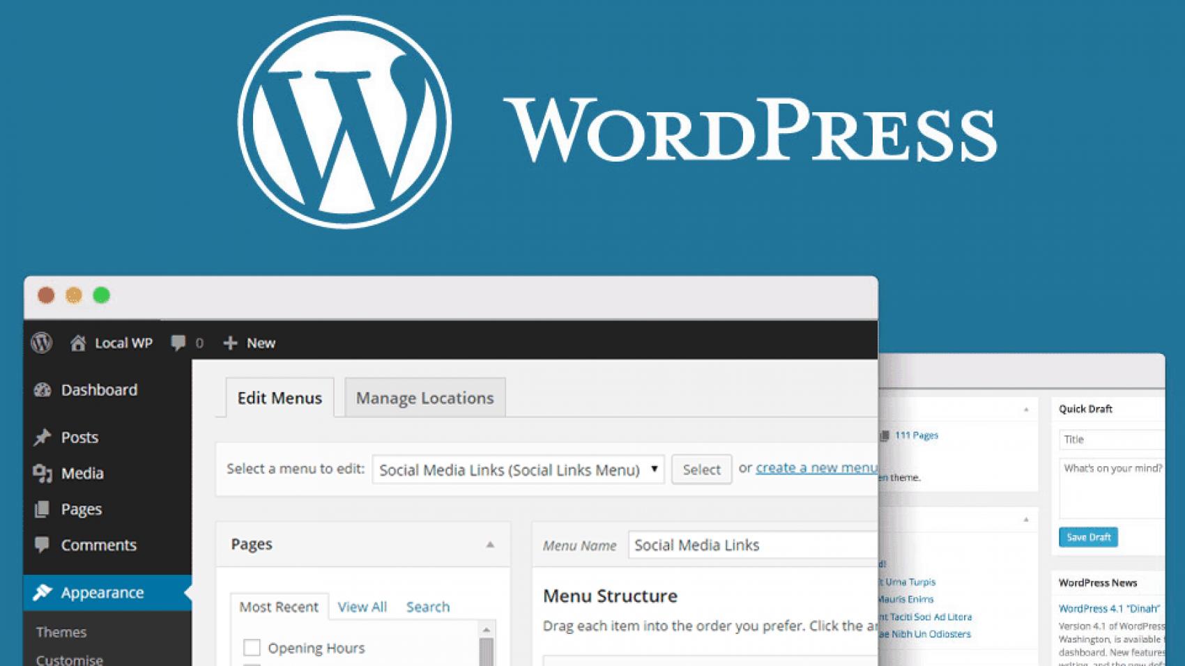 Как создать отдельную страницу для постов блога в WordPress